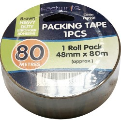 80 Metre Brown Tape