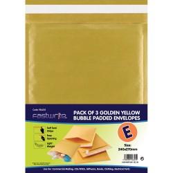 3 Pack Padded Envelopes ( E )