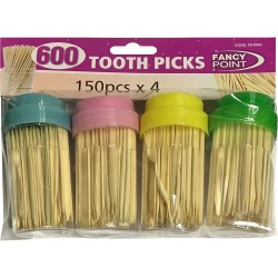 4 Pcs Tooth Picks