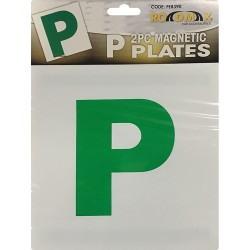 2 Pcs P Plate