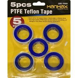 5 Pcs PTFE Teflon Tape