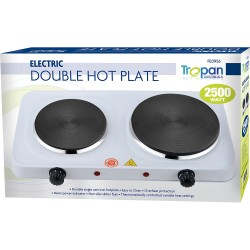 2500W ELECTRIC TWIN DUAL DOUBLE HOT PLATE TABLE TOP HOTPLATE PORTABLE