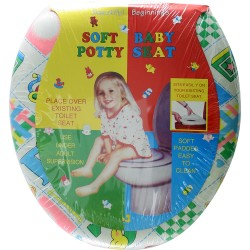 Baby Toilet Seat - Soft Luxury Baby Material Small Seat