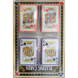 4 Pack Playing Cards