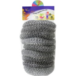 9 Pcs Steel Scourer For cleaning, Kitchen, Plates, Household.