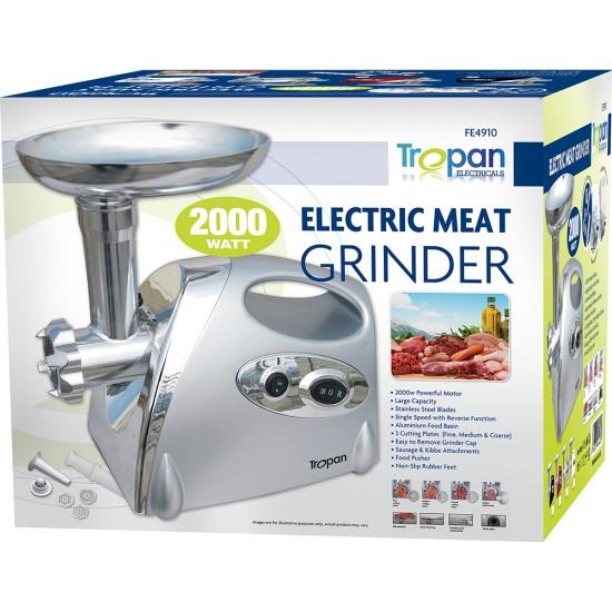 2000W NEW ELECTRIC MINCER & SAUSAGE GRIND FILLER MEAT GRINDER