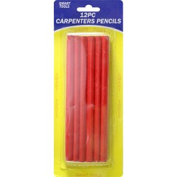 NEW 12 X CARPENTERS PENCIL JOINER CARPENTER PENCILS JOINERS WOODWORK 1 PACK 12