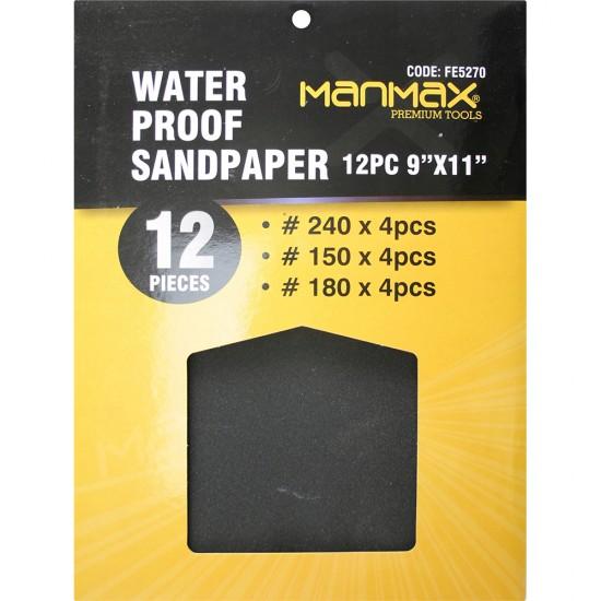 Wet & Dry Sand Paper (Black)