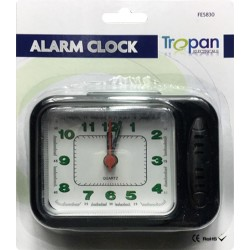 Travel Small Mini Pocket Size Alarm Clock With Lights Camping Business Holidays