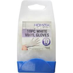 10 Pcs Vinyl Gloves