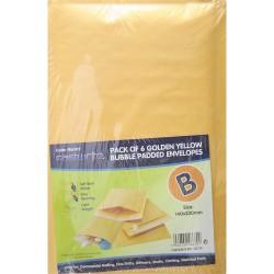 6 Pack Bubble Padded Envelope (B)