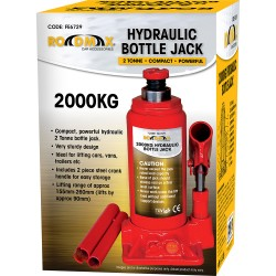 2 TON HYDRAULIC LIFT BOTTLE JACK CAR RAM TRUCK VAN BOAT GARAGE LIFTING 2T