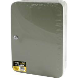 96 HOOK STEEL WALL MOUNTED LOCKABLE KEY CABINET LOCKING SECURITY BOX