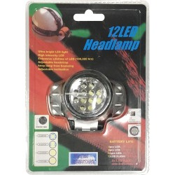 12 LED Head Lamp