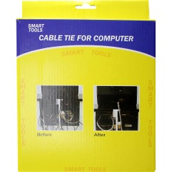 Cable Ties PLASTIC NYLON BLACK NATURAL STRONG CABLE TIES ZIP TIE WRAPS FOR COMPUTER