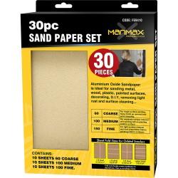 20 Pcs Sand Paper