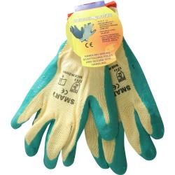 Polly Cotton Garden Gloves (Green) Outdoor Gardening
