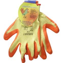 Polly Cotton Garden Gloves (Orange) Outdoor Gardening