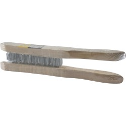 2 Pcs Wooden Wire Brush